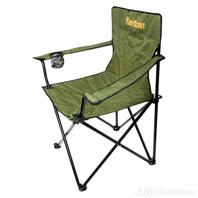 Кемпинговое раскладное кресло BOYSCOUT 6 61063 по цене 2243₽ - Походная мебель, фото 0