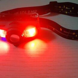 Фонари - Сенсорный налобный фонарь Zum, USB , 0