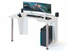 Компьютерные и письменные столы - Стол компьютерный игровой, 0
