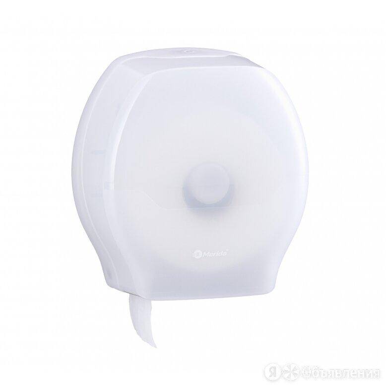 MERIDA Диспенсер для туалетной бумаги в рулонах MERIDA HARMONY MAXI ABS-пластик по цене 1733₽ - Мыльницы, стаканы и дозаторы, фото 0