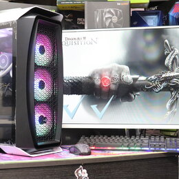 Настольные компьютеры - Игровой ПК Ryzen 3 1200 RX 570 4GB 8GB RAM 120 GB RNDM NEW, 0