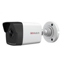 Готовые комплекты - Видеокамера IP HikVision HiWatch DS-I200(D) 4мм, 0
