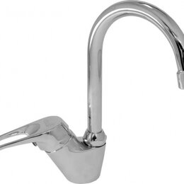 Краны для воды - РигельСИБ Смеситель для раковины РигельСИБ СМ-Т-19 Спирея (одноручковый), 0