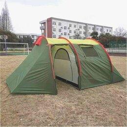 Палатки - Палатка с тамбуром 4х местная, 0