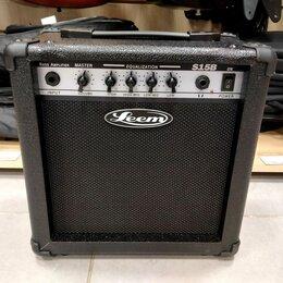 Гитарное усиление - Басовый комбоусилитель leem S15B, 0