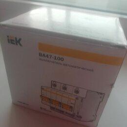 Товары для электромонтажа - Автоматический выключатель IEK BA47-100, 0