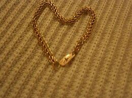 Браслеты - Золотой браслет 585, длина 17.5 см., 0