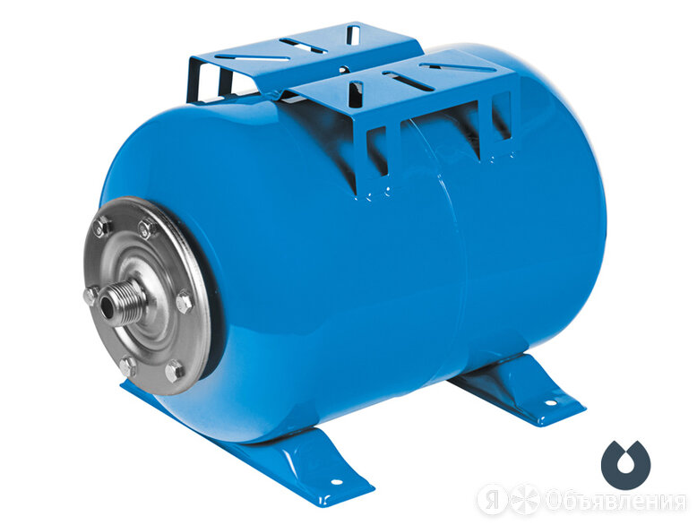 UNIPUMP Гидроаккумулятор Unipump 24 л горизонтальный 58447 по цене 2254₽ - Баки, фото 0
