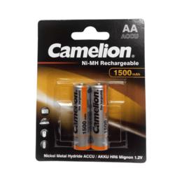 Аксессуары и запчасти для оргтехники - Аккумулятор Camelion AA-1500mAh Ni-Mh (2 шт. в уп-, 0
