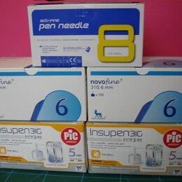Устройства, приборы и аксессуары для здоровья - Иглы для шприц ручек 5-6-8 mm, 0