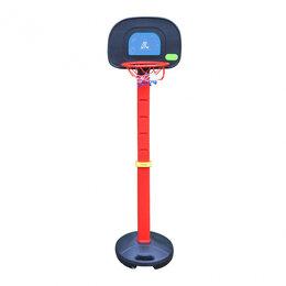 Стойки и кольца - Мобильная баскетбольная стойка DFC KIDSA, 0