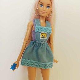 Аксессуары для кукол - Сарафан и топ для Барби., 0