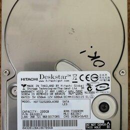 Жёсткие диски и SSD - Жесткий диск Hitachi Deskstar 200 Гб, 0