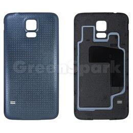 Корпусные детали - Задняя крышка для Samsung G900F Galaxy S5 (черный), 0