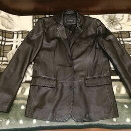 Пиджаки - кожаный пиджак, 0