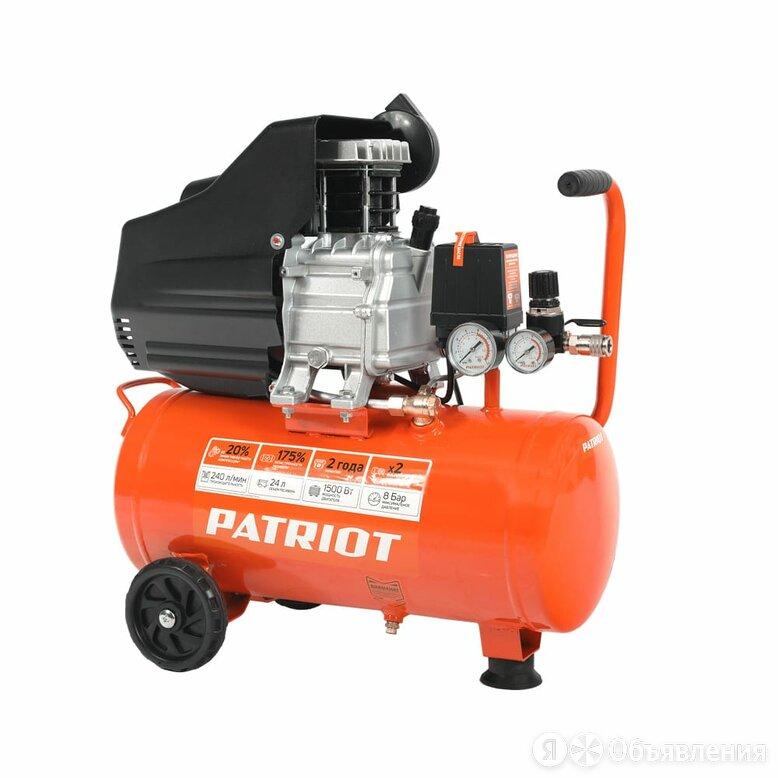 Поршневой компрессор PATRIOT EURO 24/240 по цене 9099₽ - Грузоподъемное оборудование, фото 0