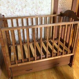 Кроватки - Детская кроватка с маятником, 0