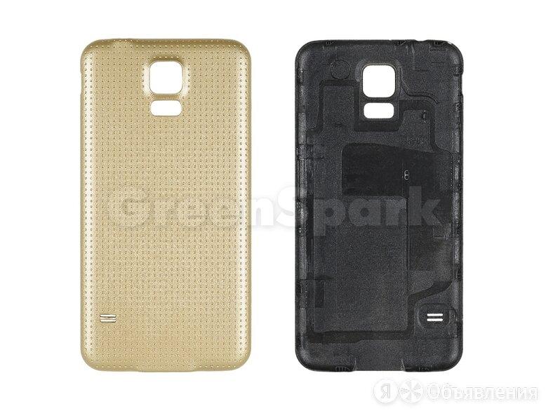 Задняя крышка для Samsung G900F Galaxy S5 (золото) по цене 170₽ - Корпусные детали, фото 0