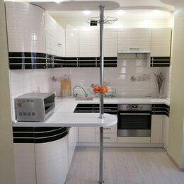 Мебель для кухни - Кухня угловая с радиусными фасадами, 0