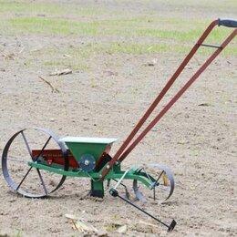 Сеялки для семян - Сеялка ручная точного посева семян трав овощная Слобожанка однорядная, 0