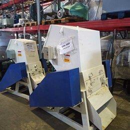 Производственно-техническое оборудование - Дробилка для пластика с ножами ласточка и выгрузом горка, 0