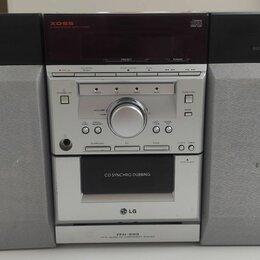 Музыкальные центры,  магнитофоны, магнитолы - Музыкальный центр LG FFH-293 FM AUX, 0