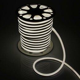 Светодиодные ленты - Гибкий неон, 15х25 мм, 50 м, LED/м-120-SMD2835-220V, БЕЛЫЙ, 0
