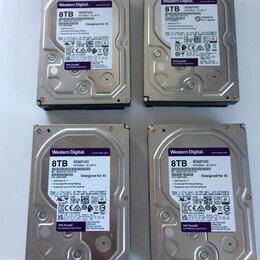 Жёсткие диски и SSD - Жёсткие диски WD Purple 8 тб, 0