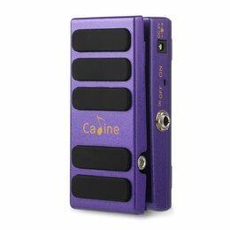 "Процессоры и педали эффектов - Педаль эффектов басовая Caline CP-31 ""Purple"" Wah/Volume, 0"