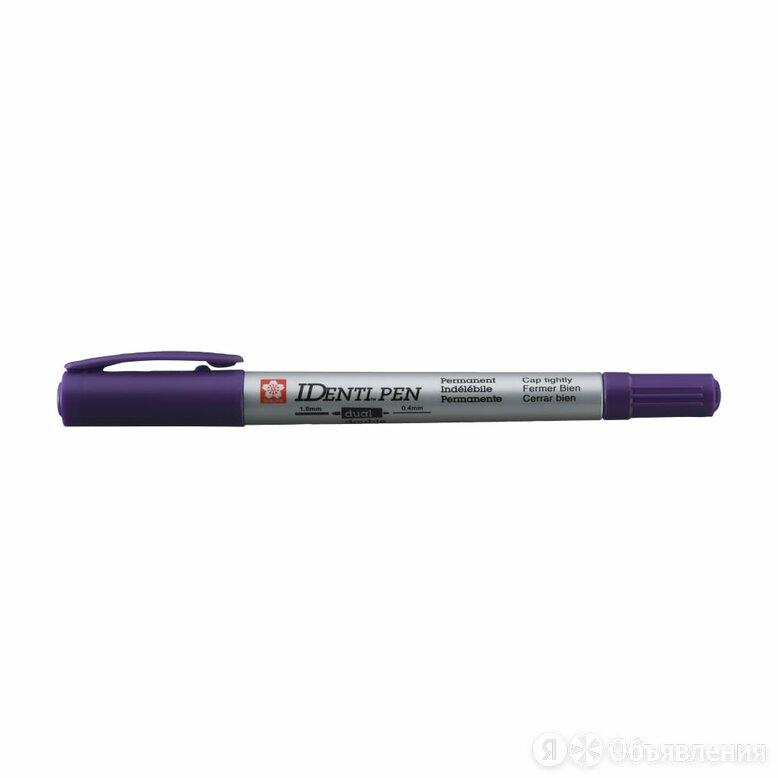 Двусторонний перманентный маркер SAKURA Identi Pen по цене 179₽ - Канцелярские принадлежности, фото 0