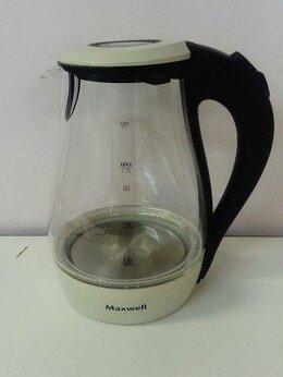 Электрочайники и термопоты - Чайник электрический Maxwell MW-1070 стекло, 0
