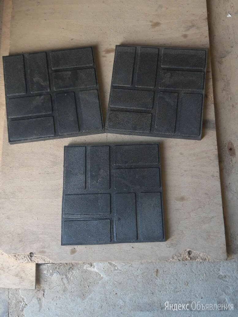 Плитка полимерпесчаная 250х250х20 черная  по цене 36₽ - Садовые дорожки и покрытия, фото 0