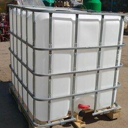 Баки - Еврокуб 1000л - пластиковая емкость в металлической обрешетке, 0
