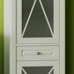 Стеллажи и этажерки - Пенал OPADIRIS Палермо, цв. белый, правый, 0