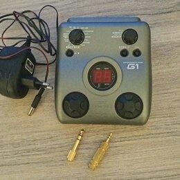Процессоры и педали эффектов - Гитарный Процессор Zoom G1. Бесплатная Доставка, 0