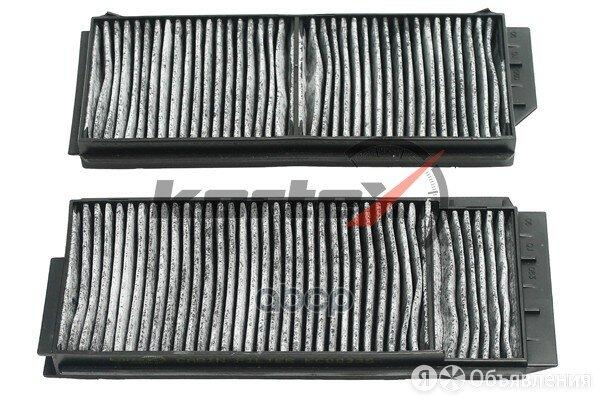 Фильтр Салонный Mazda 3 03-/Mazda 5 05- (К-Т) (Угольный) KORTEX арт. KC0033S по цене 410₽ - Отопление и кондиционирование , фото 0