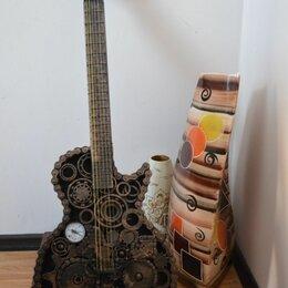 Статуэтки и фигурки - Гитара из металла, 0