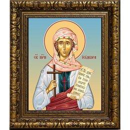 Сувениры - Исидора Тавенская преподобная, Христа ради юродивая. Икона на холсте., 0