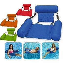 Плетеная мебель - Плавающее кресло Inflatable Floating Bed, зелёный, 0