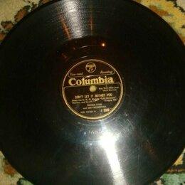 Виниловые пластинки - Пластинка Columbia 1930-40 Henry King целая, 0