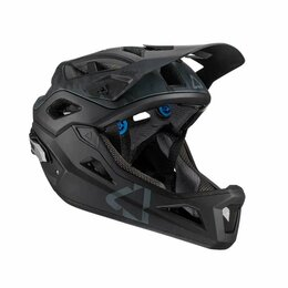 Спортивная защита - Велошлем Leatt MTB 3.0 Enduro Helmet, Black, 2021 (Размер: M), 0