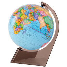 Глобусы - Глобус политический 21см на треуг.подставке, Глобусный мир, 0