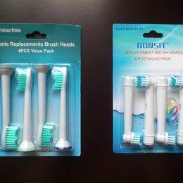 Электрические зубные щетки - Насадки для зубных щеток Philips и Braun Oral-B, 0