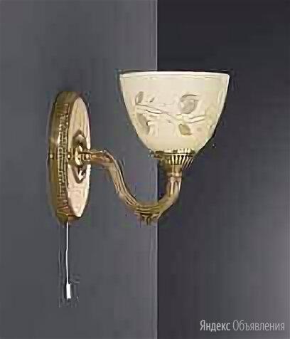 Бра Reccagni Angelo A 6358/1 по цене 14422₽ - Бра и настенные светильники, фото 0