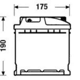 Батарейки - EXIDE DC900 Аккумуляторная батарея 90Ah DETA STANDARD 12 V 90 AH 720 A ETN 0R..., 0