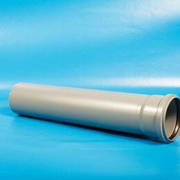 Канализационные трубы и фитинги - Трубы AquaLine Труба канализационная внутренняя  AquaLine Д-110х2,2х1,0м Эконом, 0