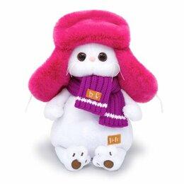 Мягкие игрушки - Мягкая игрушка кошечка Li-Li в меховой шапке BUDI BASA, 0