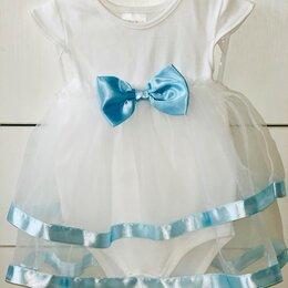 Платья и юбки - Платье - боди для малышки, 0