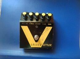 Процессоры и педали эффектов - Гитарная педаль Valver settler, 0