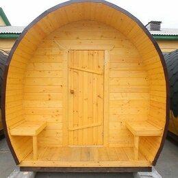 Готовые строения - Купольная баня бочка , 0